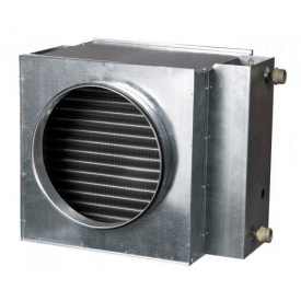 Круглий водяний нагрівач Vents НКВ 125-2