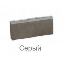 Поребрик вибропрессованный 50x20x6 cм Серый