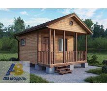 Строительство одноэтажного дачного дома с крыльцом под ключ