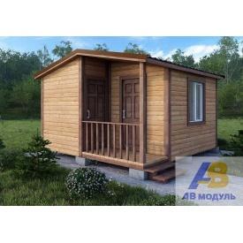 Строительство одноэтажного домика на дачу с крыльцом под ключ