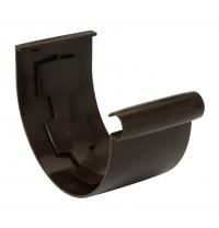 Муфта желоба Nicoll 25 ПРЕМИУМ 115 мм коричневый