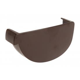 Заглушка ринви ліва Nicoll 29 VODALIS коричневый