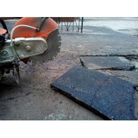 Устройство траншей с демонтажом асфальта