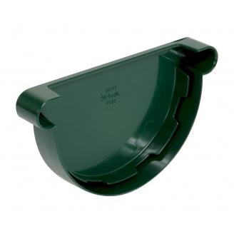 Заглушка ринви універсальна Nicoll 25 ПРЕМІУМ зелений