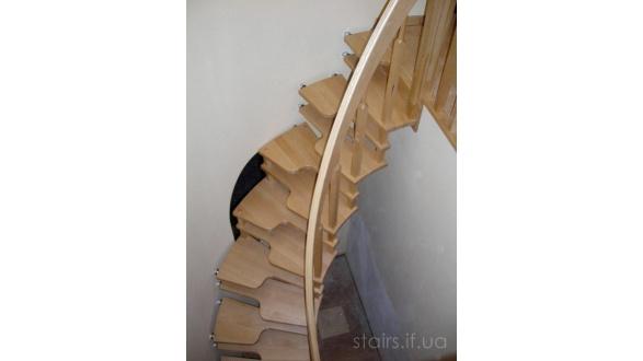 Компактные деревянные лестницы