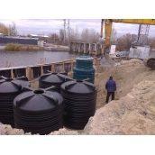 Автономна каналізація ЗЕЛЕНА СКЕЛЯ для баз відпочинку і кафе 10 м3/добу
