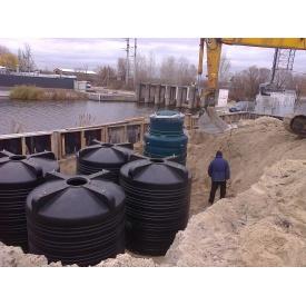 Автономная канализация ЗЕЛЕНА СКЕЛЯ для баз отдыха и кафе 10 м3/сутки