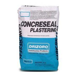 Смесь Drizoro CONCRESEAL PLASTERING 25 кг серый