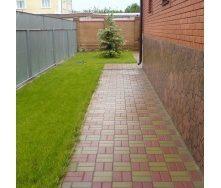 Тротуарная плитка  Кирпич Стандартный 200х100х60 мм красная