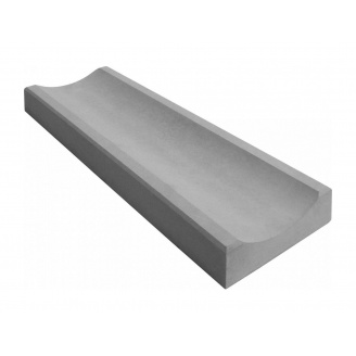 Водосток тротуарный 350x160x60 мм серый