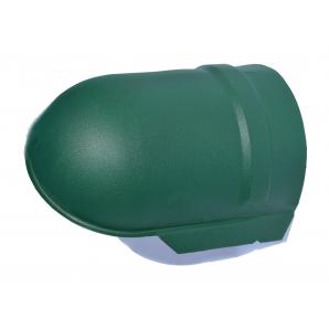 Заглушка конька Тайл 75 мм зеленый