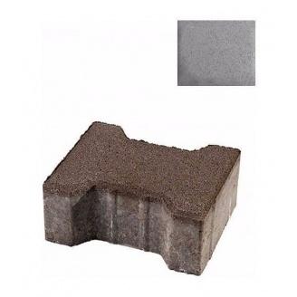 Тротуарна плитка ЮНІГРАН Двотавр 200х165х100 мм сірий класік