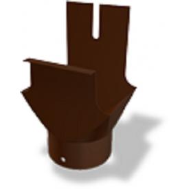 Воронка прямоугольного желоба PREFA 80 мм