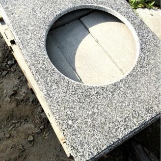 Стільниця Grey Ukraine кухонна кам'яна 600х20 мм