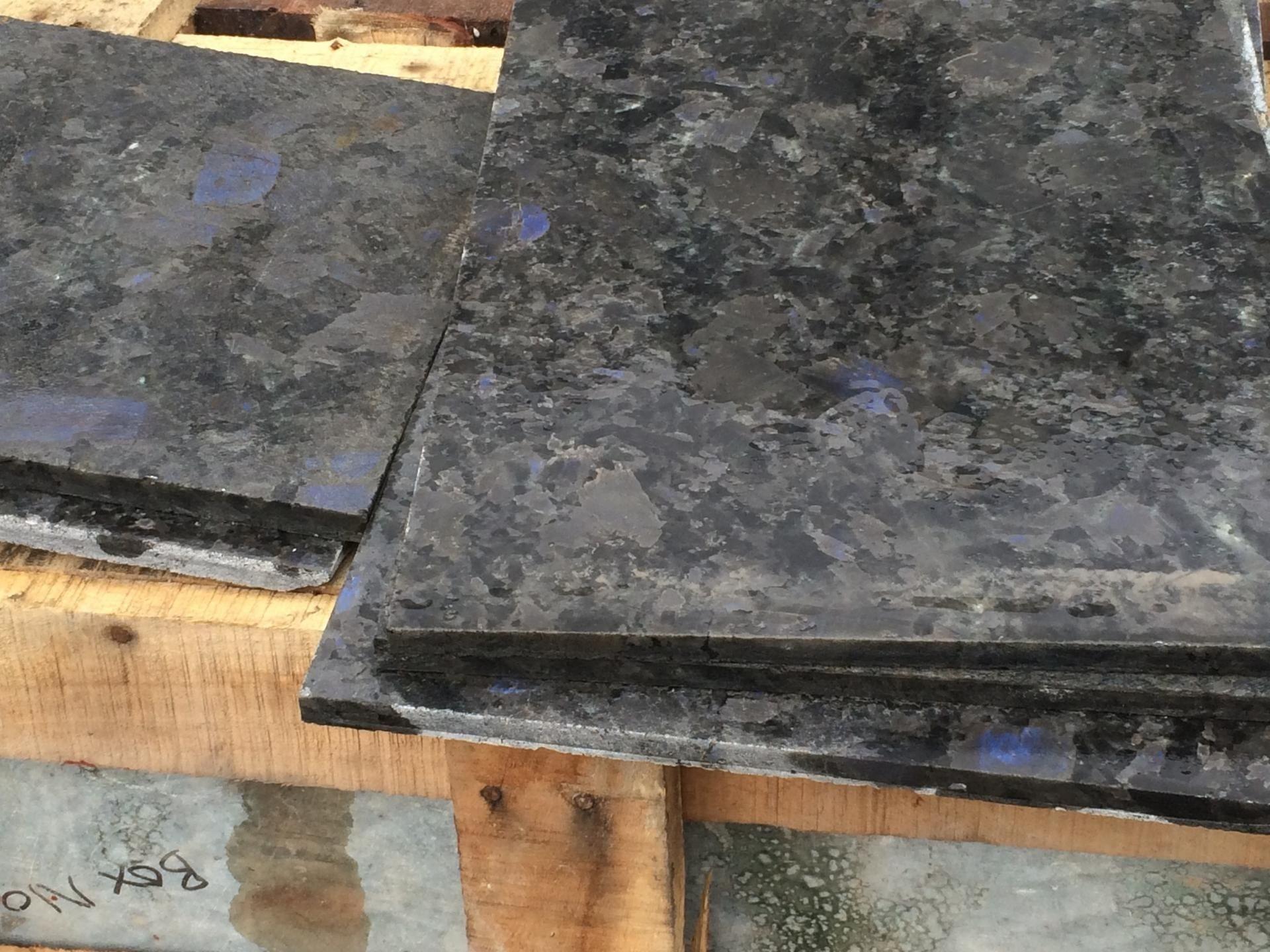 Плитка 10 мм из натурального лабрадорита