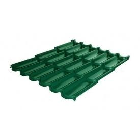 Металлочерепица RAUNI Premium 1180/1100 мм 0,5 мм MAT Polyester SeAH Steel (Корея) RAL 6002