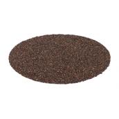 Заглушка конька круглого QueenTile 148 мм brown