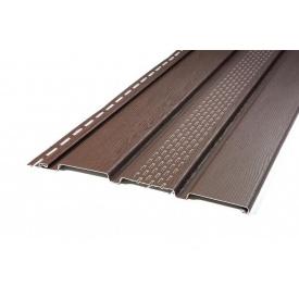 Софит АйДахо 2700х300 мм коричневый