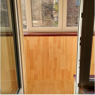Регулировка фурнитуры створки балконной двери