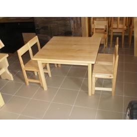 Дитячий компанійський комплект меблів з дерева сосна