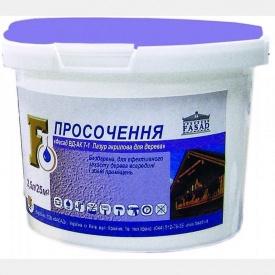 Пропитка Лазурь акриловая для дерева 2,5 л