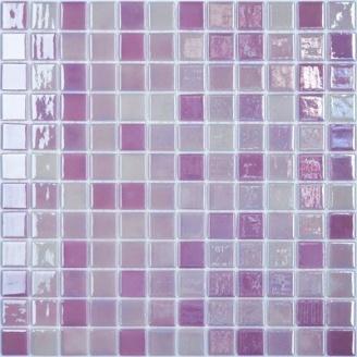 Мозаїка скляна Vidrepur Titanium LUX MAGENTA 404 300х300 мм