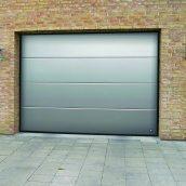 Ворота гаражные секционные Ryterna TLB slick доска сталь