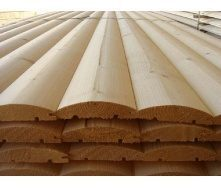 Блок-хаус деревянный 140х20 мм