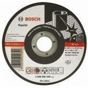 Отрезной круг по нержавейке Bosch 125х1