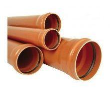 Труба ПВХ EVCI PLASTIK канализационная 160x3,2 мм 2 м