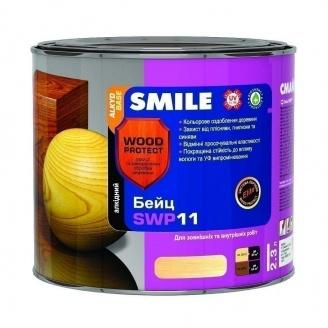 Бейц алкидный SMILE SWP-11 WOOD PROTECT Elite 2,3 л орех