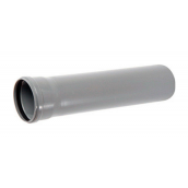 Труба ПВХ EVCI PLASTIK канализационная 110x1,8 мм 0,25 м