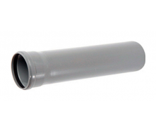 Труба ПВХ канализационная 50x1,8 мм 2 м