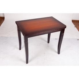 Стол обеденный Микс Мебель Эрика 600x900/1200x900 мм коньяк