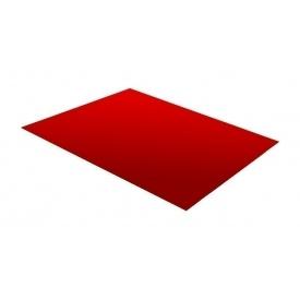 Гладкий лист RAUNI 1250 мм 0,45 мм Polyester (Корея) RAL 3011