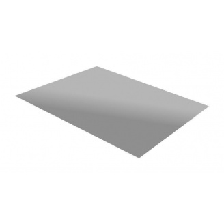 Гладкий лист RAUNI 1250 мм 0,45 мм Polyester (Корея) RAL 9006