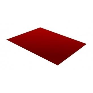 Гладкий лист RAUNI 1250 мм 0,45 мм Polyester (Германия) RAL 3005