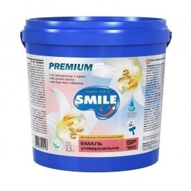 Эмаль универсальная SMILE SF-180 водно-дисперсионная 2,3 кг белый