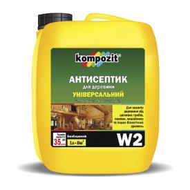 Антисептик трудновымываемый Kompozit W3 5 л