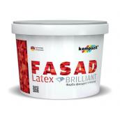Фасадная краска Kompozit FACADE LATEX матовая 4,2 л белый