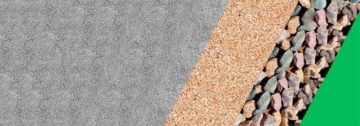 Песок, щебень и др