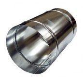 Кожух для ізоляції труб оцинкований 259х100 мм