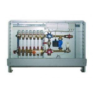 Шафа управління з термоприводами HERZ підключення праворуч 6 відводів 230 В (3F53206)