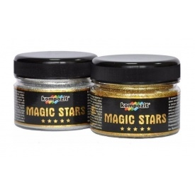 Глиттер Kompozit MAGIC STARS 60 г серебро
