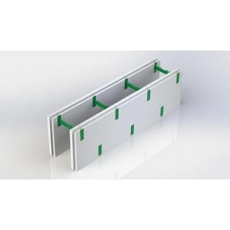 Термоблок разборный 50+50 AVcom с регулируемой шириной бетона стены 300x1000 мм