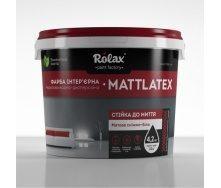 Краска водно-дисперсионная Ролакс Aкрил Super MattLatex 7 кг белая