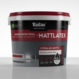 Краска Акрилсупер Matlatex Ролакс 7 кг