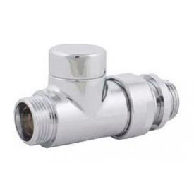 Клапан для отключения радиатора HERZ RL-Design проходной хромированный (S373341)