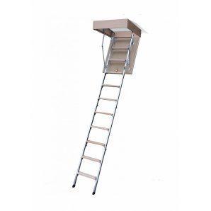 Чердачная лестница Bukwood ECO Metal 80х60 см