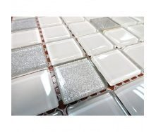 Мозаїка скляна VIVACER MixC09 300x300 мм